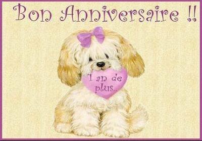 bon anniversaire en chien