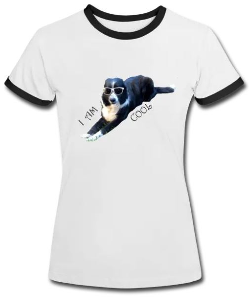 t shirt border collie
